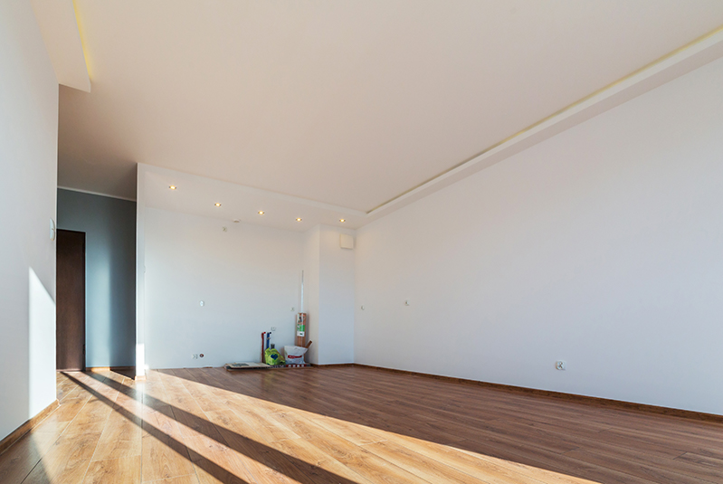 Garage conversion - building services.